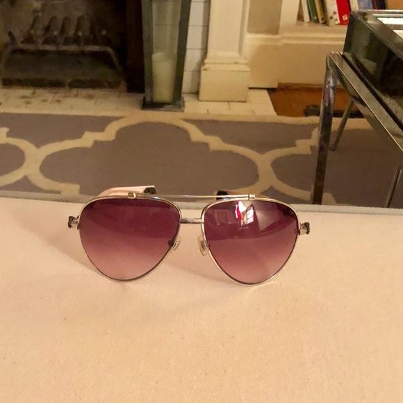 "ca7522874742 Chrome Hearts Accessories - Chrome Hearts ""stoned"" aviator style sunglasses"